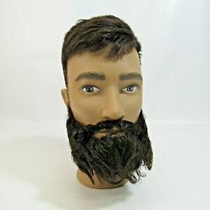 Pivot Point Mannequin Head Bearded Male Cosmetologist Model Hair Beard Display