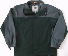 TIMBERLAND Outdoor Performance Hunter Green Gray Jacket Coat Mens Size M Medium