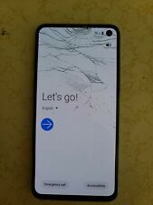 *see pictures* Samsung Galaxy S10e SM-G970U - 128GB - Prism Blue (Verizon)