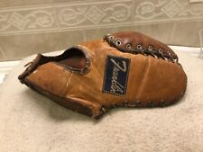 "Franklin USA Gil Hodges 12"" Baseball, First Base Mitt Right Hand Throw"