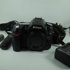 Nikon D90 Digital 13MP SLR Camera Body,Battery