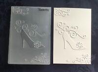 Crafts-Too/CTFD3069/C6/Embossing /Folder/Fashion Shoe Flourish