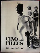 SAM HASKINS Cinq Filles Photographies Nu Editions Prisma 1969