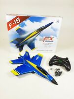 UK F18 BUMBLEBEE Fighter Jet Model Radio Control RC Air Plane 2.4ghz Kids Toy