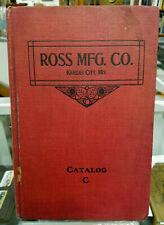 Ross Manufacturing Co Catalog Kansas City c 1910-20 Plumbing & Bathroom Supplies