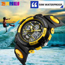 Sports Waterproof Led Watches with Alarm Wrist Watches For Boys Girls Children