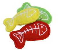 CAT KITTEN TOYS CHASE FUN HUNT PACK OF 3 FISH