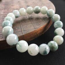 Natural A Grade Green Jadeite Jade 9.5mm Beads with Stretchy Bracelet