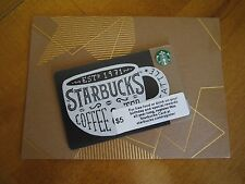 Starbucks ** 2015 VINTAGE CUP CORPORATE EXCLUSIVE CARD **(6112) w/ SLEEVE ~ MINT