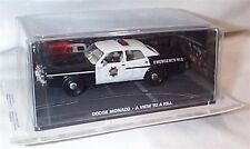 James Bond Dodge Monaco Police A View to a Kill New in sealed pack