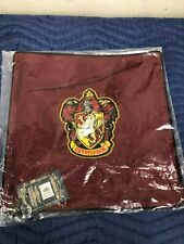 Pottery Barn Teen Throw Pillow Cover Harry Potter Gryffindor House