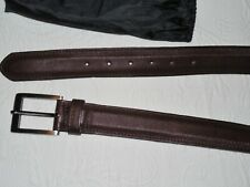 BECKETT SIMONON Burgundy Leather Belt - 36 - Rare Hard to Find - NWOT
