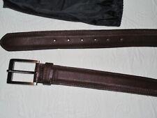 BECKETT SIMONON Burgundy Leather Belt - 36 - Rare Hard to Find - NWOT