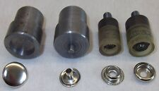 Werkzeug f. Ringfeder Druckknöpfe 15mm Spindel / Handpresse 19/7mm