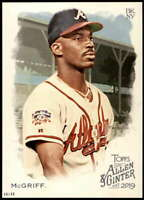 Fred McGriff 2019 Allen and Ginter 5x7 #273 /49 Braves
