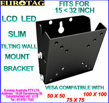 EUROTAG LCD LED TV Wall Mount Bracket 15 17 19 20 22 26 28 30 Inch #18 LCD-201T