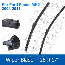 "FORD FOCUS MK2 2004-2011 BRAND NEW FRONT WINDSCREEN WIPER BLADES 26""17"""