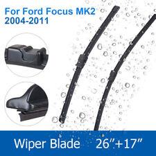 "FORD FOCUS MK2 2004-2011 BRAND NEW FRONT WINDSCREEN WIPER BLADES 26""17"""
