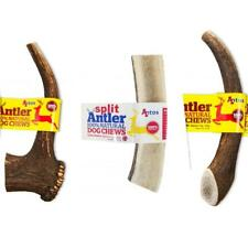 Antos Natural Deer Antler Dog Puppy Whole Split Healthy Nutritious Chew Treat