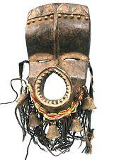 Art Africain Arts Premiers - Étonnant Masque Bété aux Superbes Ornements +++++++