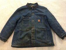 Big Ben Mens Denim Field Barn Work Coat Jacket Lined Corduroy Collar (48) NC5