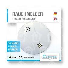 Rauchmelder 10 Jahre Lithium Batterie günstig Feuermelder Brandmelder EN 14604