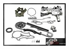 TIMING CHAIN KIT COVER+OIL PUMP for TOYOTA PICKUP 85-95 4RUNNER85-95 2.4L ENGINE