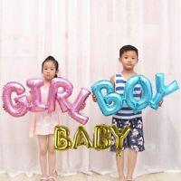 Letter Boy/Girl Foil Balloon Gender Reveal Baby Shower Birthday Party Decoration