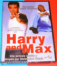 HARRY AND MAX / HARRY + MAX - English Español DVD R2 Precintada
