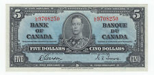 1937 Bank of Canada Uncirculated $5 - Cat#BC-23b
