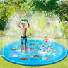 170/150/100CM Pool Spray Splash Water Mat Kid Inflatable Garden Outdoor Play Toy
