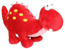 Teddy & Friends Dinosaur - Dino [36cm] Soft Plush Toy - Red NEW
