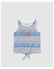 T-shirts, hauts et chemises bleus pailletés pour fille de 2 à 16 ans