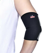 Sports Medicine Elastic Compression Elbow Support Sleeve Brace Protector 2017