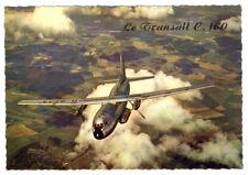 French Le TRANSALL C-160 Postcard