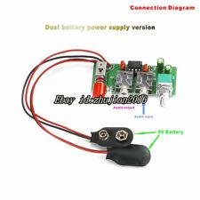 Jrc4556 Battery version Ra1 Dual Channel Mini headphone amplifier Diy Kit