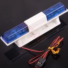 RC Car Police Night Flash Bright LED Light 360 Degree Rotation Demo LED502B