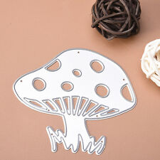 Mushroom Cutting Dies Stencil DIY Scrapbooking Album Paper Card Embossing Craft
