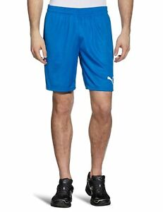 PUMA Herren Hose Team Shorts without Inner Brief, Royal / White, M