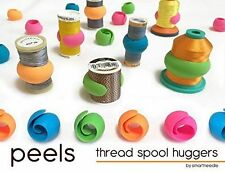 Thread Spool Huggers PEELS // Keep Thread Tails Under Control