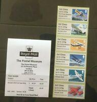R19AL SEPT 2019 POSTAL MUSEUM MAIL BY AIR AIRMAIL 1919 1st STRIP  B9GB19 Post Go