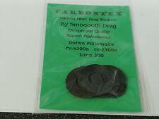 1 Set Carbontex Drag Washers Fits Daiwa Millionaire CV-X300A, CV-Z300A, Luna 300
