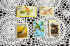vintage reproduction animals stamps stamp set