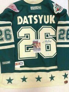 Pavel Datsyuk Autographed Jersey 2004 All-Star 2004 JSA