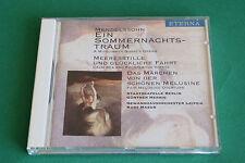 """CD MENDELSSOHN """"LE SONGE D'UNE NUIT D'ETE"""" G. HERBIG & K. MASUR / ETERNA TB ETAT"""