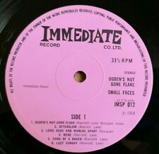 Small Faces LP Ogdens Nut Gone Flake UK Pink Immediate Press PSYCH