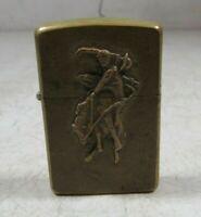 Vintage 1994 Brass Zippo Marlboro Lighter March