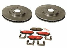 Set of 2 Brembo Front Brake Rotors & Pads fits Acura CL TL MDX TSX Honda Acoord