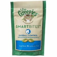LM Greenies SmartBites Hairball Control Tuna Flavor Cat Treats 2.1 oz
