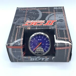 BLITZ DCII 19446 Stepping Motor Drive Racing Meter Digital Compact